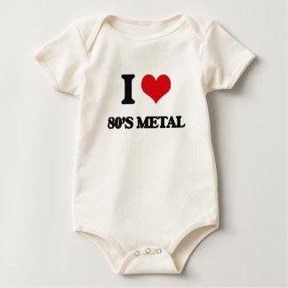 I Love 80'S METAL Bodysuit