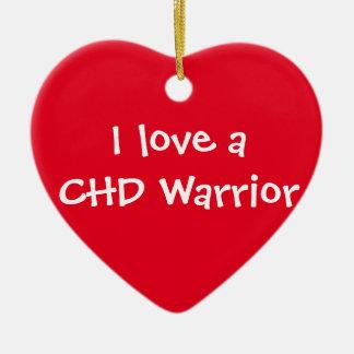 I love a CHD Warrior ornament