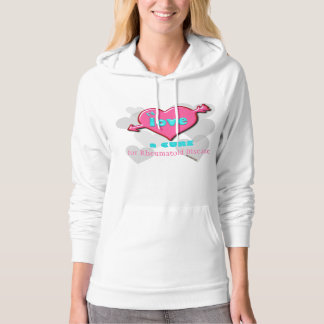 I Love a cure w/ CUSTOMIZABLE text Hoodie