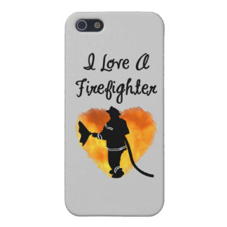 I Love A Firefighter iPhone 5/5S Cover