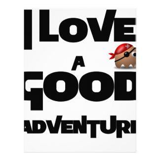 I Love A Good Adventure Letterhead