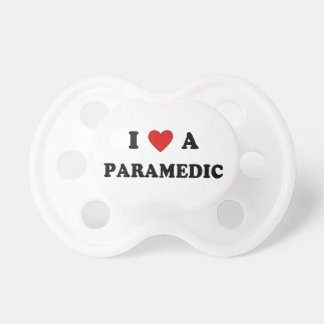 I Love A Paramedic Pacifier