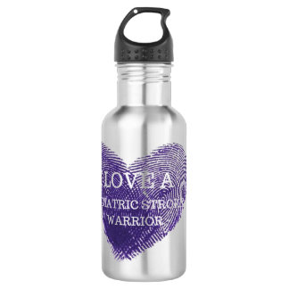 I love a pediatric stroke warrior water bottle