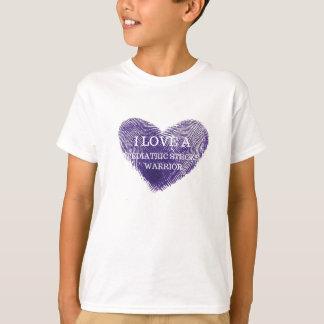 I love a pediatric stroke warrior Youth tshirt