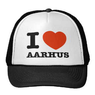 I Love Aarhus Trucker Hat