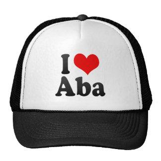 I Love Aba, Nigeria Mesh Hats