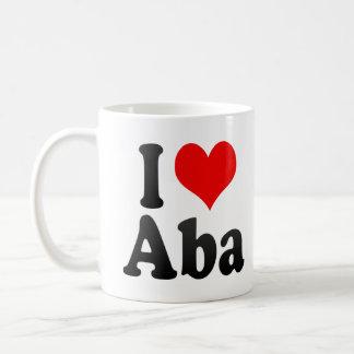 I Love Aba, Nigeria Coffee Mugs
