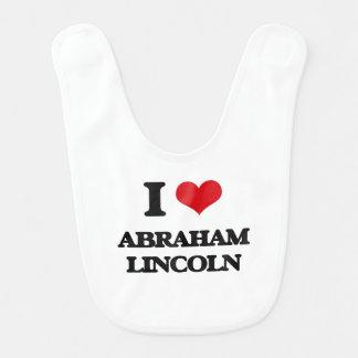 I love Abraham Lincoln Bib