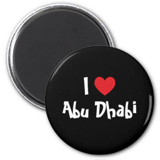I Love Abu Dhabi Magnet