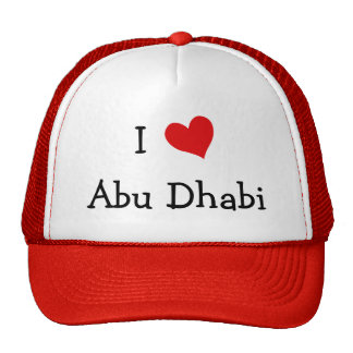 I Love Abu Dhabi Trucker Hat