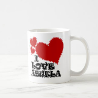 I LOVE ABUELA COFFEE MUG