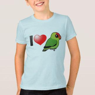 I Love Abyssinian Lovebirds T-Shirt