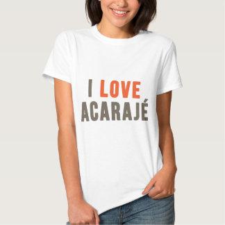 """I Love Acarajé"" T Shirt"