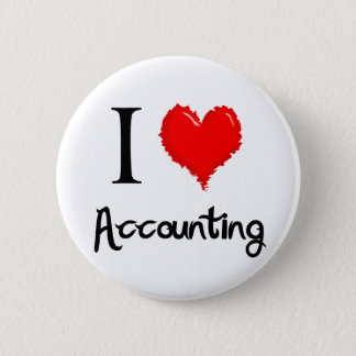 i love accounting 2 inch round button