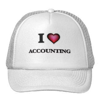 I Love Accounting Trucker Hat