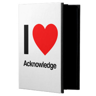 i love acknowledge cover for iPad air