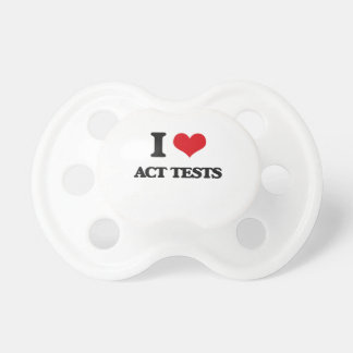 I Love Act Tests BooginHead Pacifier