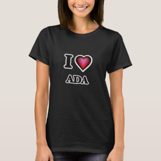 I Love Ada T-Shirt