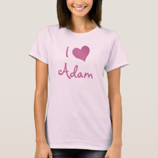 I Love Adam T-Shirt