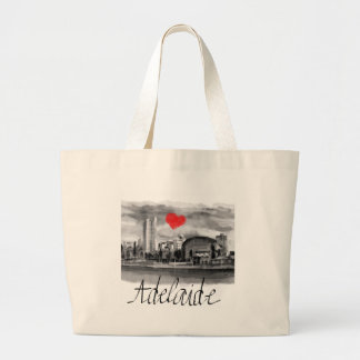 I love Adelaide Large Tote Bag