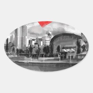 I love Adelaide Oval Sticker