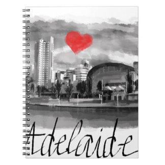 I love Adelaide Spiral Notebook