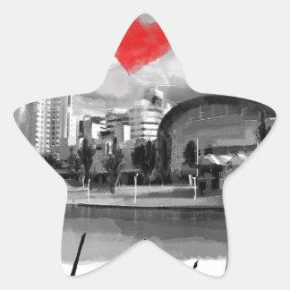I love Adelaide Star Sticker