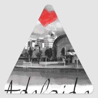 I love Adelaide Triangle Sticker