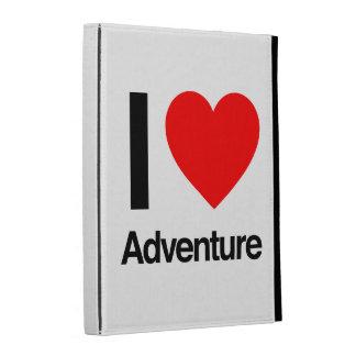 i love adventure iPad folio case