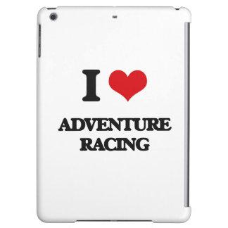 I Love Adventure Racing iPad Air Cases