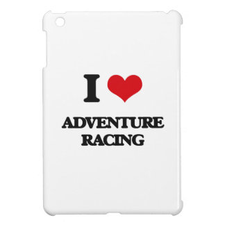 I Love Adventure Racing iPad Mini Covers