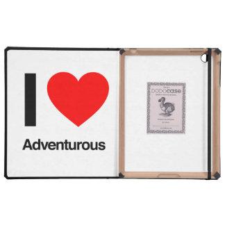 i love adventurous iPad folio cases