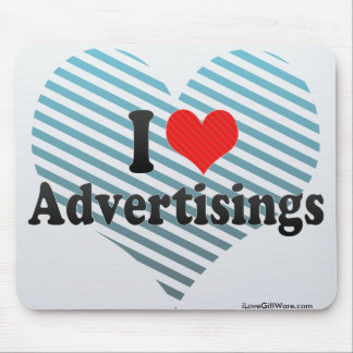 I Love Advertisings Mousepad