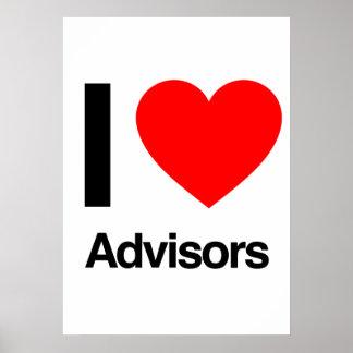 i love advisors poster