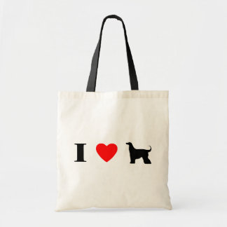 I Love Afghan Hounds Bag