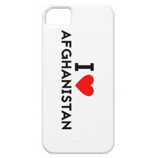 i love Afghanistan country nation heart symbol tex iPhone 5 Cover