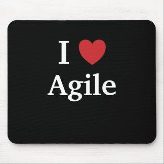 I Love Agile Quote Mug Project Manager Gift Idea Mouse Pad