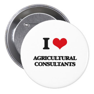 I love Agricultural Consultants Pin