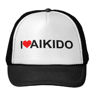 I Love Aikido Trucker Hat