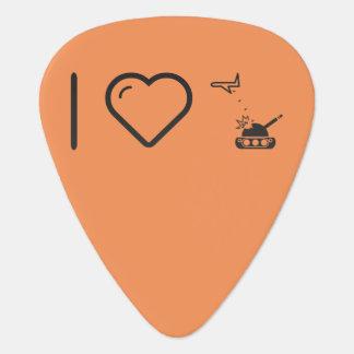 I Love Air Force Guitar Pick