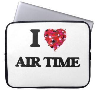 I Love Air Time Laptop Sleeve