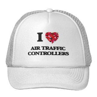 I Love Air Traffic Controllers Trucker Hat