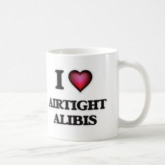 I Love Airtight Alibis Coffee Mug