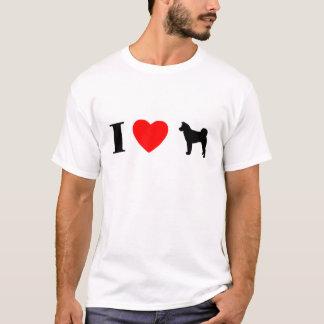 I Love Akitas T-Shirt