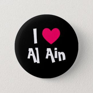 I Love Al Ain 2 Inch Round Button