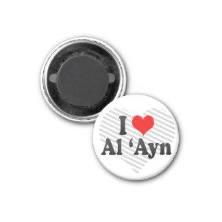 I Love Al 'Ayn, United Arab Emirates Magnet