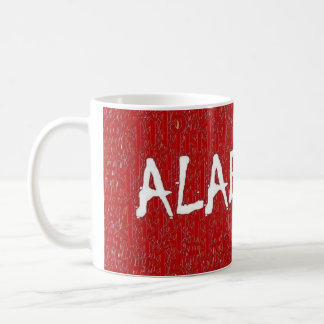 I love Alabama by:davyart Classic White Coffee Mug