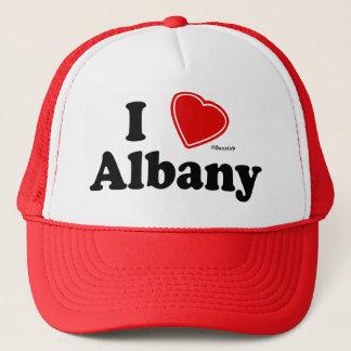 I Love Albany Trucker Hat