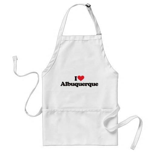 I Love Albuquerque Aprons