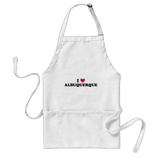 I Love Albuquerque New Mexico Standard Apron